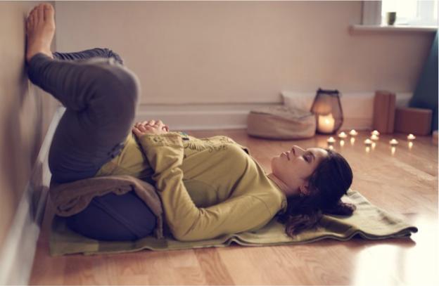 Candlelit Restorative Yoga