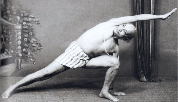 Tirumalai Krishnamacharya, father of modern yoga.