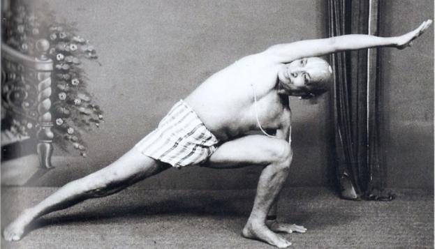 Tirumalai Krishnamacharya, father of modern yoga.